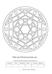 Flächen - Mandala