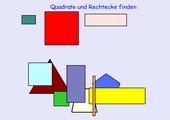 Einführung Quadrat und Rechteck