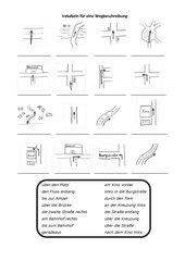 4teachers vokabeln f r eine wegbeschreibung. Black Bedroom Furniture Sets. Home Design Ideas