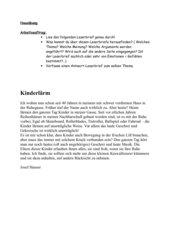 leserbrief kinderlrm - Leserbriefe Beispiele