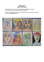 Malen wie Picasso: