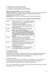 UR-Entwurf zum Versailler Vertrag: Wie kann man zu einer gemeinsamen Friedenslösung gelangen?