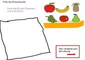 Wer kauft was? - Beispiel Obst