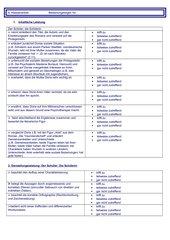 Bewertungsbogen zu einer Charakterisierung (8.Klasse) RLP