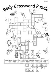 BODY - Crossword Puzzle