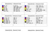 8 Karteikarten - Die binomischen Formeln