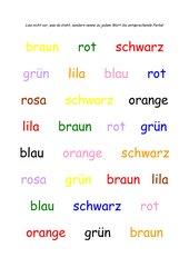 Farben-Lesen