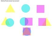 Farben mischen - Farbkreis