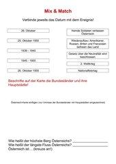 Österreich - Geschichte + Bundesländer