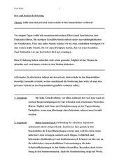 musteraufsatz zu einer dialektischen bzw pro und kontra errterung einsetzbar in klasse 9 verwendet in klasse 9 einer gesamtschule im saarland - Dialektische Erorterung Beispiel Klasse 9