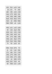 Zaubertrick rechnen bis 1000