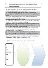 Selbstlernbogen present perfect