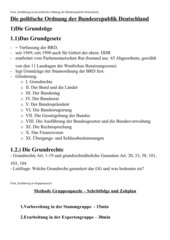Material_Einführung GG + Grundrechte/Gruppenpuzzle