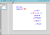 Smart Notebook Express 2 - Wörter sortieren