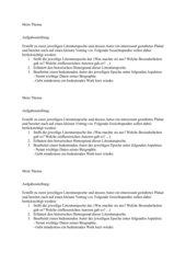 Literaturepochen - Aufgabenstellung für eine Gruppenarbeit