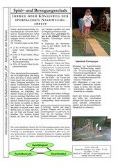 Kreative Koordination - die Spiel und Bewegungsschule