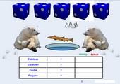 Eisbär-Diplom - ein Denk- und Würfelspiel
