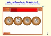 SMART Anagramm - Buchstaben ordnen - richtig schreiben