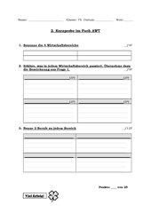 Wirtschaftsbereiche Kurzprobe HS 7 Bayern