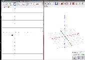 3d-Würfelgebäude mit geogebra 5.0 erstellt