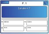 multiple choice (Längenumrechnung)