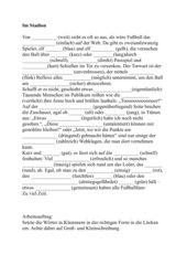 Substantivierung von Adjektiven