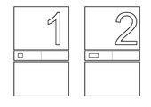 Zahlenplakat oder Zahlenbuch zu Modulinostäben