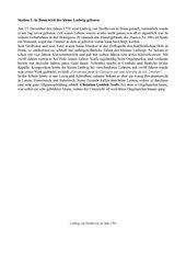 Stationenlernen zur Biografie Ludwig van Beethovens