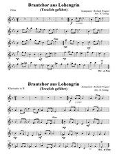 Brautchor aus Lohengrin (Treulich geführt)