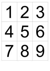 10 er   Memo-Spiel / Zuordnungsspiel