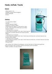 Handy-Auflade-Tasche häkeln