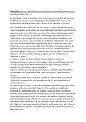 """Vorschlagslösung zur Sachtextanalyse zu Günther Grass' Kommentar """"Hinter und auf dem Mond"""""""
