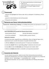 Tipps GFS Klasse 8