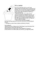 Infotext zu Wahlen