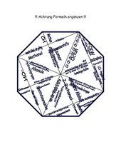 Domino Puzzle Alkane, Alkohole