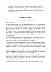 Die Reformen Solons 594 v. Chr. - Staatskrise in Athen