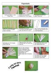Bildanleitung für Paperballs