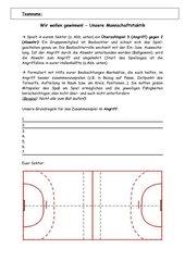 Handball Gruppentaktik als kooperative Lernform