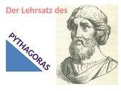 Satz des Pythagoras veranschaulicht