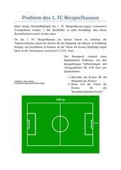 Textaufgabe Bruchrechnung Kl. 6, Gym.