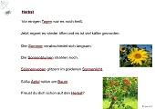 Wortarten - Herbst - - -  easiteach