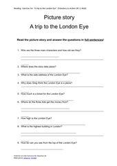 A trip to the London Eye