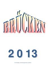 Kalender 2013 - Brücken, Teil 1