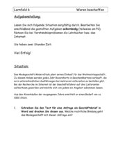Angebotsvergleich (LF 6) inkl. Lösung
