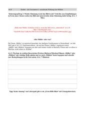 Gruppenpuzzle zum Topos der Mühlen/Müller - Krabat