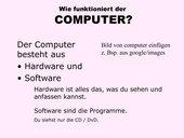 Wie funktioniert der Computer?