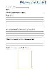 Büchersteckbrief
