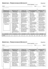 Referatbewertungsschema Oberstufe
