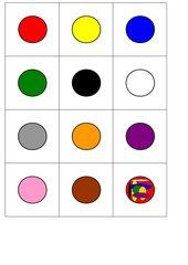Farben-Zuordnungs-Spiel