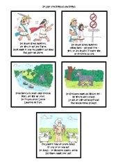 Die Sage von Romulus und Remus als Comic